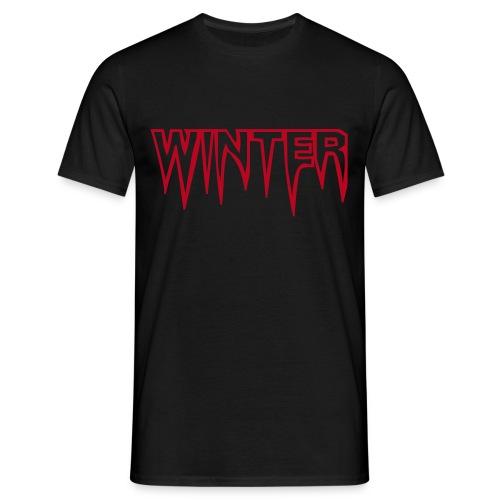 Winter - Männer T-Shirt