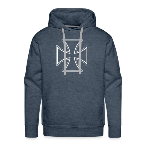 Kreuz Pullover - Männer Premium Hoodie