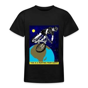 mountainebike T-shirt voor kinderen. - Teenager T-shirt