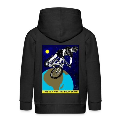 mountainbike jas voor kinderen. - Kinderen Premium jas met capuchon