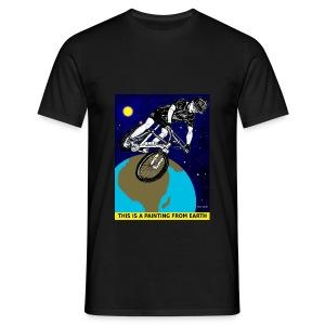 mountainbike T-shirt voor mannen. - Mannen T-shirt