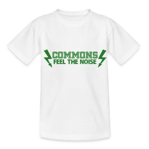 Commons Feel The Noise - Teenage T-shirt