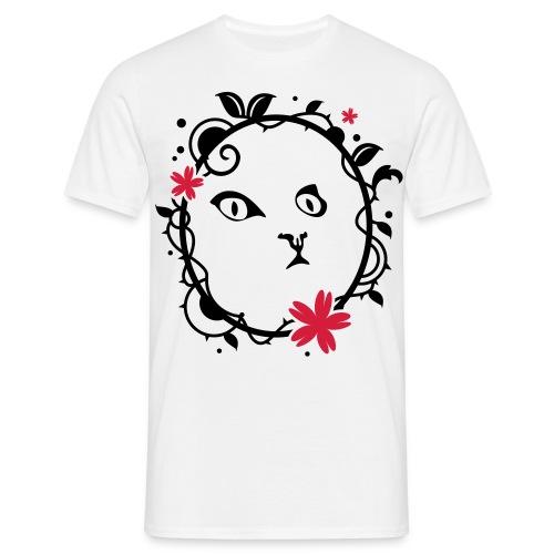 portrait chaton - T-shirt Homme