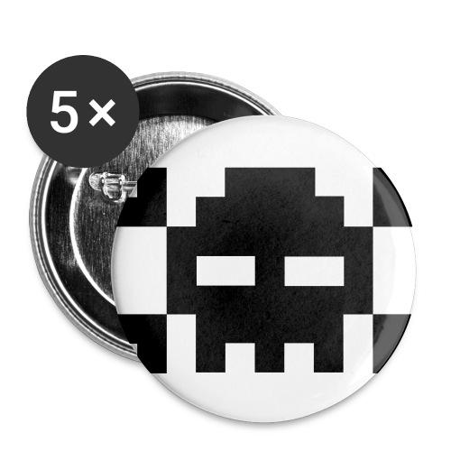 Skull 5 pack - Liten pin 25 mm (5-er pakke)