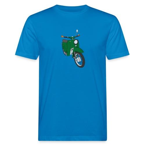 Klimaneutrales Schwalbe-Shirt (grün) - Männer Bio-T-Shirt