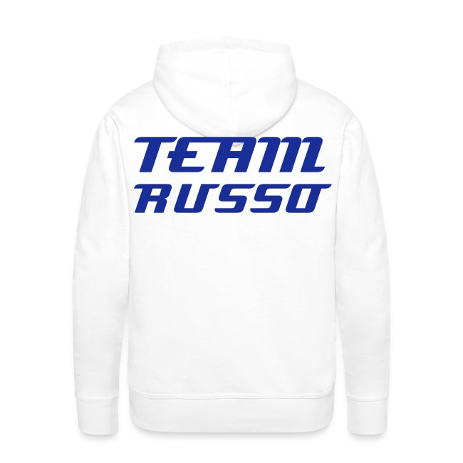 Men's Blue TEAM RUSSO Hoodie