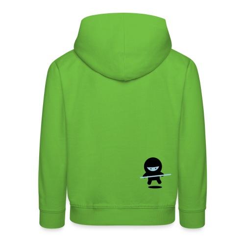 kanjix - Sudadera con capucha premium niño