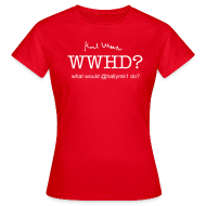 T-Shirts ~ Women's T-Shirt ~ What would @hallymk1 do?