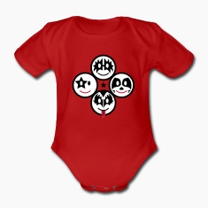 Smiley Kiss Icons (quadratisch) 3c Baby Body