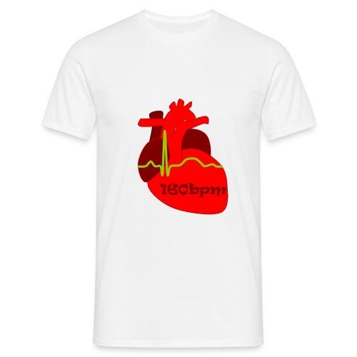 160 bpm logo - Men's T-Shirt