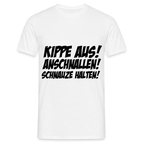 Anschnallen - Männer T-Shirt