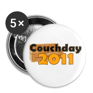 Couchday 2011 Buttons - Buttons mittel 32 mm