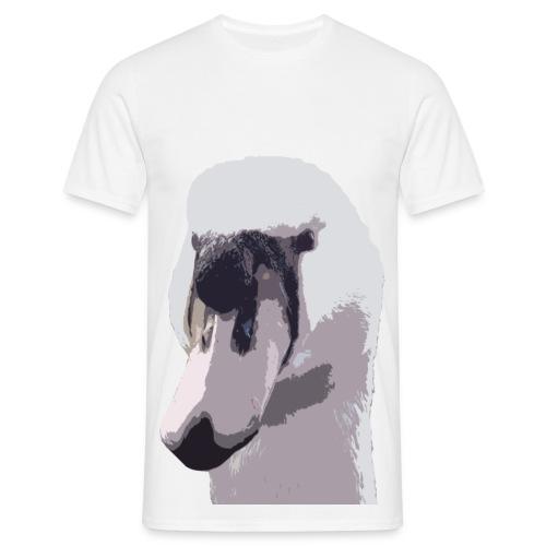 Swan Mens T-shirt - Men's T-Shirt