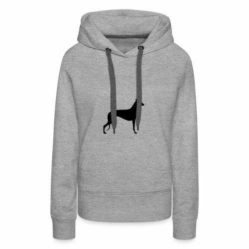 Greyhoundmotiv 1 - Frauen Premium Hoodie