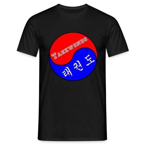 TKD YingYang - Männer T-Shirt