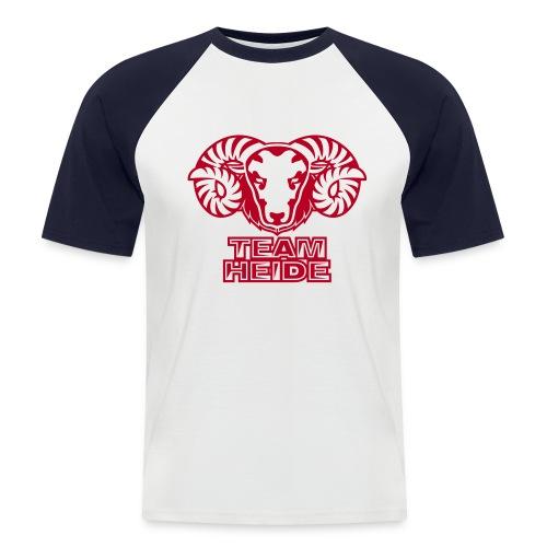 TEAM HEIDE - Männer Baseball-T-Shirt