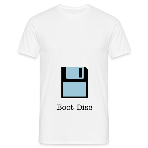 Boot Disc t-shirt - Men's T-Shirt