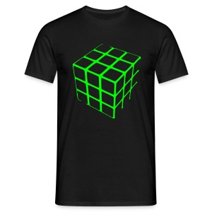 Cube Grid t-shirt - Men's T-Shirt