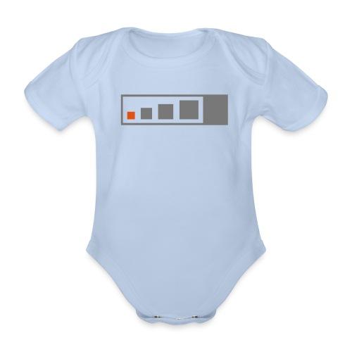 Geocaching Micro Cache - Baby Bio-Kurzarm-Body