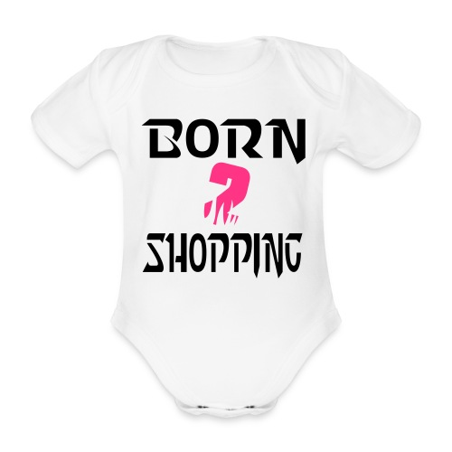 BABY VEST - Organic Short-sleeved Baby Bodysuit