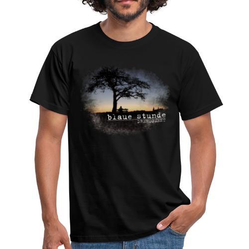 Drehmoment - blaue Stunde - Männer T-Shirt