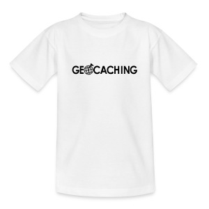 geocaching-4-kid - Teenager-T-shirt