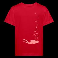 T-Shirts ~ Kinder Bio-T-Shirt ~ Taucher Kids