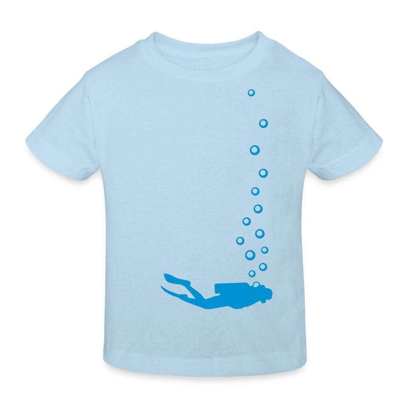 Taucher Kids - Kinder Bio-T-Shirt
