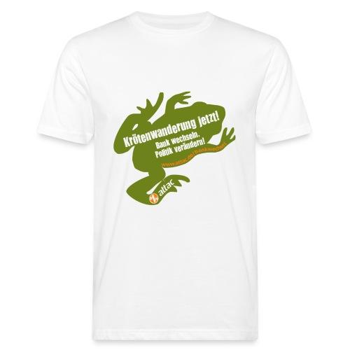 Attac Krötenwanderung - Männer Bio-T-Shirt