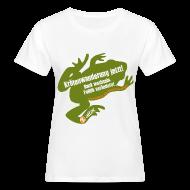 T-Shirts ~ Frauen Bio-T-Shirt ~ Attac Krötenwanderung für Frauen