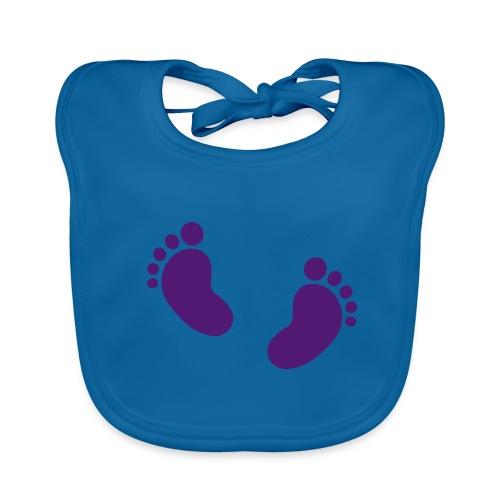 Slabbertje Baby Voetjes - Bio-slabbetje voor baby's