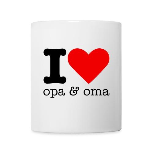 Beker I Love Opa & Oma - Mok