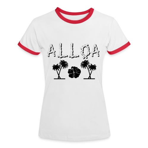 Alloa - Women's Ringer T-Shirt