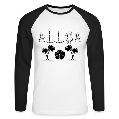 Alloa - Men's Long Sleeve Baseball T-Shirt