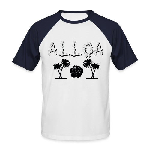 Alloa - Men's Baseball T-Shirt
