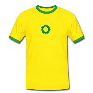 Bright Contrast Tee Sprocket - Men's Ringer Shirt