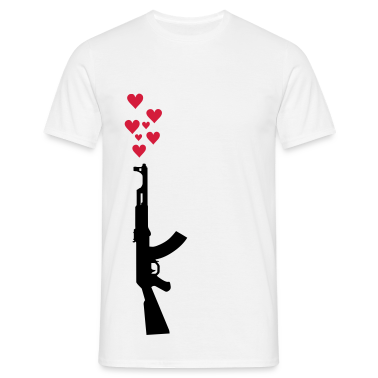 AK47 anti-war theme. T-Shirts