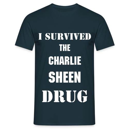The Charlie Sheen Drug - Men's T-Shirt