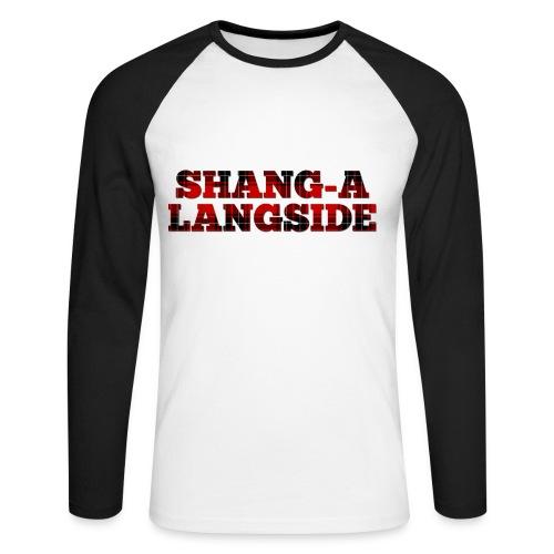 Shang-A-Langside - Men's Long Sleeve Baseball T-Shirt