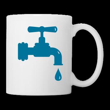 tasse un robinet qui goutte tasses spreadshirt. Black Bedroom Furniture Sets. Home Design Ideas