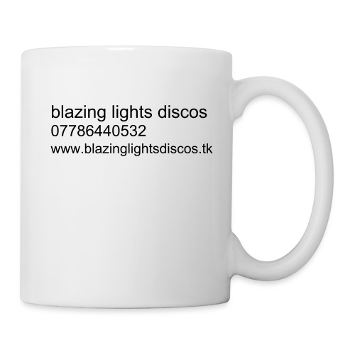 blazing lights discos mug - Mug