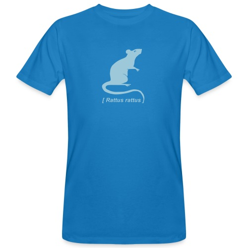 Männer Bio Shirt Ratte Maus Nagetier Nager Rattus Tiershirt Shirt Tiermotiv - Männer Bio-T-Shirt