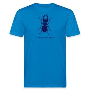 Herren Bio Shirt Hirschkäfer Hirsch Geweih Käfer Insekt Tiershirt Shirt Tiermotiv - Männer Bio-T-Shirt