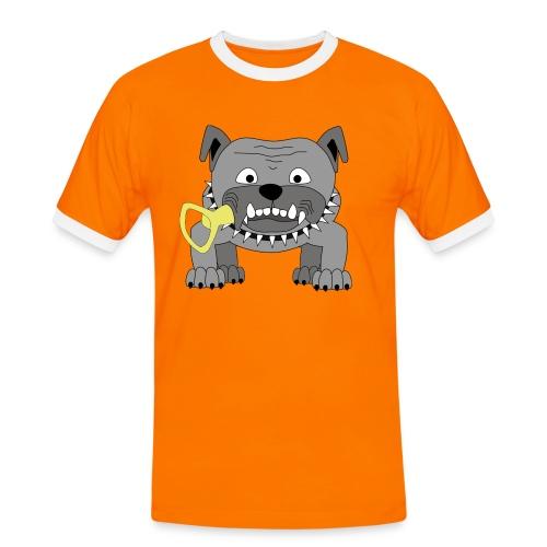 Hundeköter Männer Kontrast-Shirt - Männer Kontrast-T-Shirt