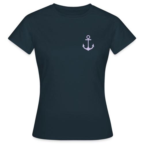 Frauen T-Shirt Anker  - Frauen T-Shirt
