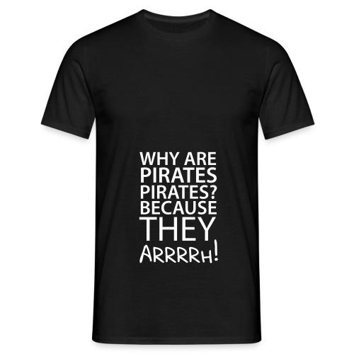 Männer T-Shirt Pirates  - Männer T-Shirt