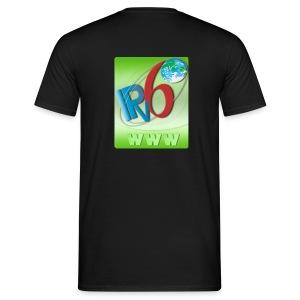 IPv6 WWW (Back) - Men's T-Shirt