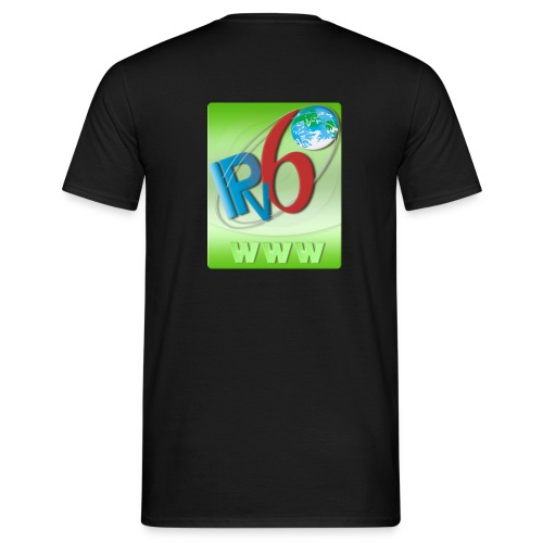 IPv6 WWW (Back) - Men's T-Shirt