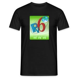 IPv6 WWW (Front) - Men's T-Shirt