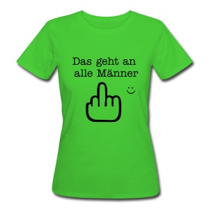 better than ..... - Frauen Bio-T-Shirt